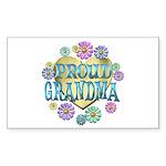 Proud Grandma Sticker (Rectangle 10 pk)
