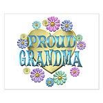 Proud Grandma Small Poster