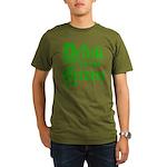 Drink 'til yer Green Organic Men's T-Shirt (dark)