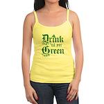 Drink 'til yer Green Jr. Spaghetti Tank