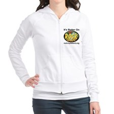 It's Better On Rock Radio Fitted Hoodie