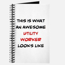 awesome utility worker Journal