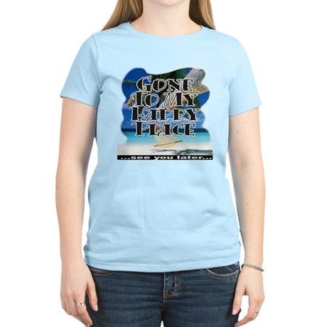 My Happy Place ~ Women's Light T-Shirt