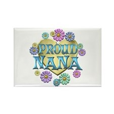 Proud Nana Rectangle Magnet