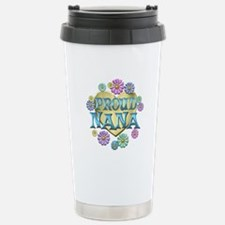 Proud Nana Stainless Steel Travel Mug