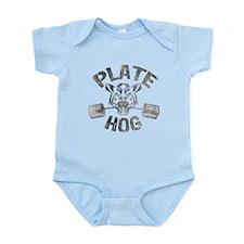 PLATE HOGGER Infant Bodysuit