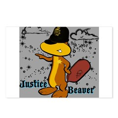 Justice Beaver Postcards (Package of 8)