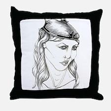 Elvish Queen - Throw Pillow