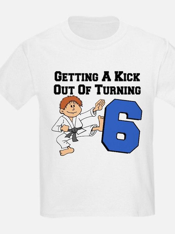 Karate Birthday Six T-Shirt