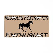 Missouri Foxtrotter Aluminum License Plate