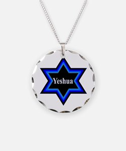 Yeshua Star of David Necklace