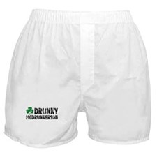 Drunky McDrunkerson Boxer Shorts