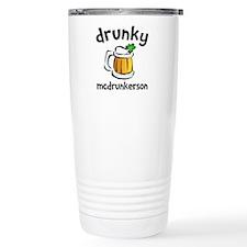 Drunky Beer Travel Mug