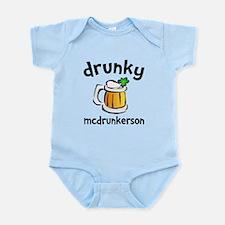 Drunky Beer Infant Bodysuit