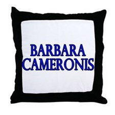 Barbarus Cameronis (Cameron C Throw Pillow