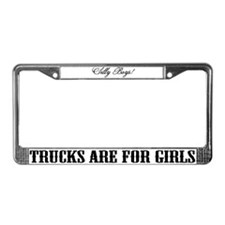 Funny Silly License Plate Frame
