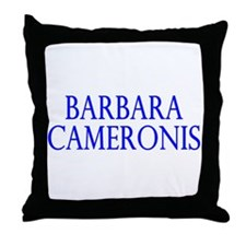 Barbara Cameronis (Cameron Cr Throw Pillow