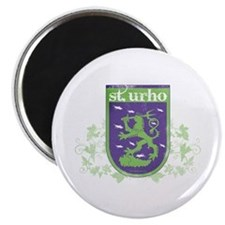 St. Urho Coat of Arms Magnet