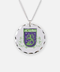 St. Urho Coat of Arms Necklace