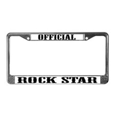 Cute Official License Plate Frame