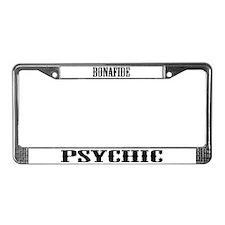 Psychic medium License Plate Frame