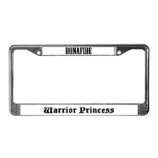 Cool Warriors License Plate Frame