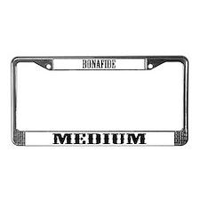 Cute Psychic medium License Plate Frame