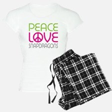 Peace Love Snapdragons Pajamas