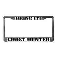 Cute Ghost hunter License Plate Frame
