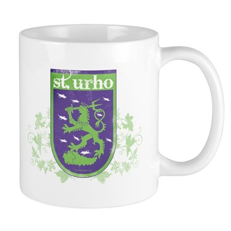 St. Urho Coat of Arms Mug