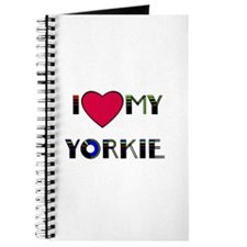LOVE MY YORKIE Journal