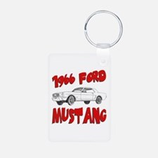 1966 Ford Mustang Keychains