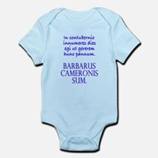Camping Out (Masc, Wht Out) Infant Bodysuit