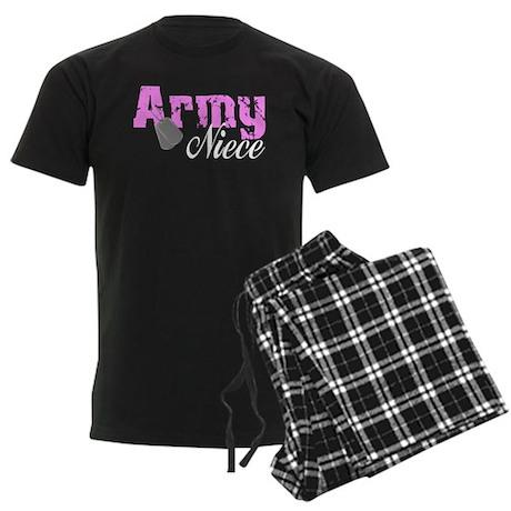 Army Niece Men's Dark Pajamas