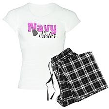 Navy Sister Pajamas