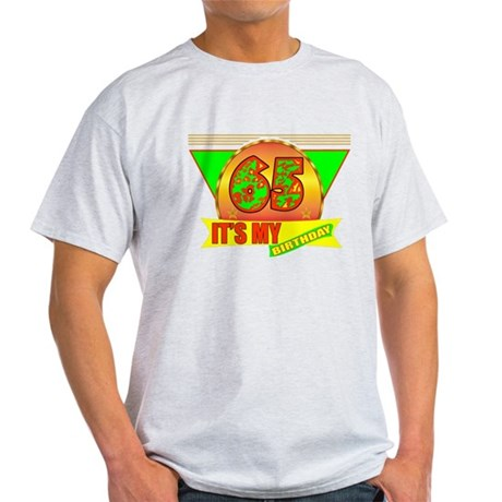 65th Birthday Light T-Shirt