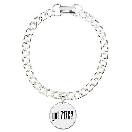 got 717C? Charm Bracelet, One Charm
