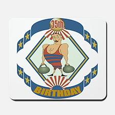 35th Birthday Mousepad