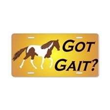SSH Got Gait? Aluminum License Plate