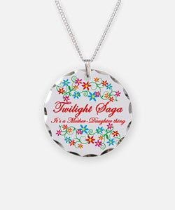 Twilight Mom Daughter Necklace