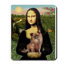Mona & her Chihuahua (LH) Mousepad