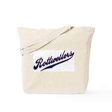 Rottweilers SCRIPT Tote Bag
