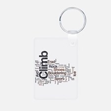 Climbing Words Keychains