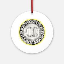 POLICE Ornament (Round)