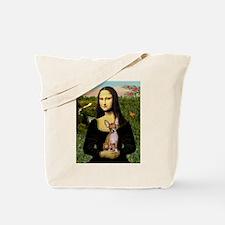 Mona & her Chihuahua (#2) Tote Bag
