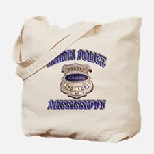 Sparta Police Sergeant Tote Bag