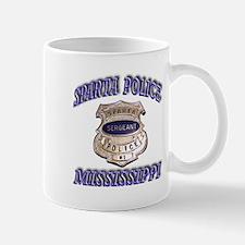 Sparta Police Sergeant Mug