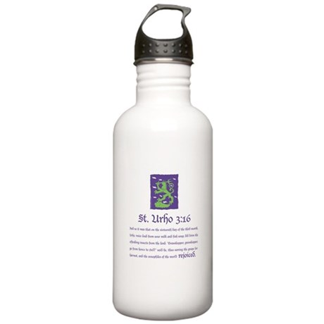 St. Urho 3:16 Stainless Water Bottle 1.0L
