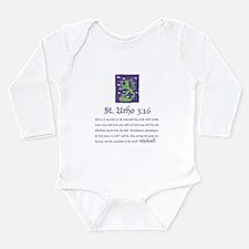 St. Urho 3:16 Long Sleeve Infant Bodysuit