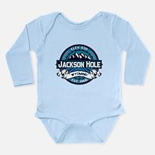 Jackson Hole Ice Long Sleeve Infant Bodysuit